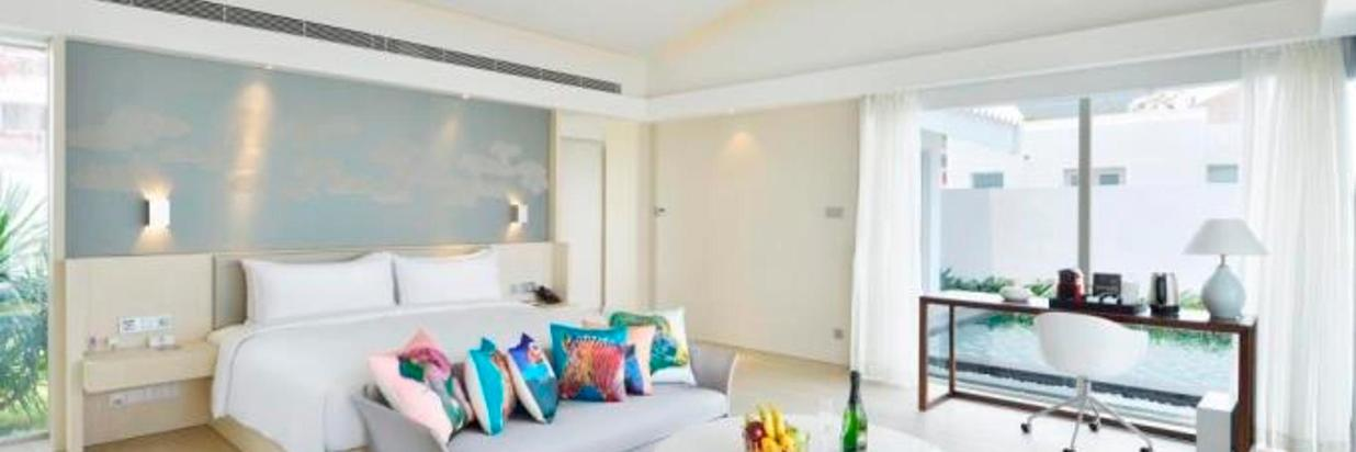 Upgrade Explosion-Second Villa with Sea View Two-Bedroom Pool