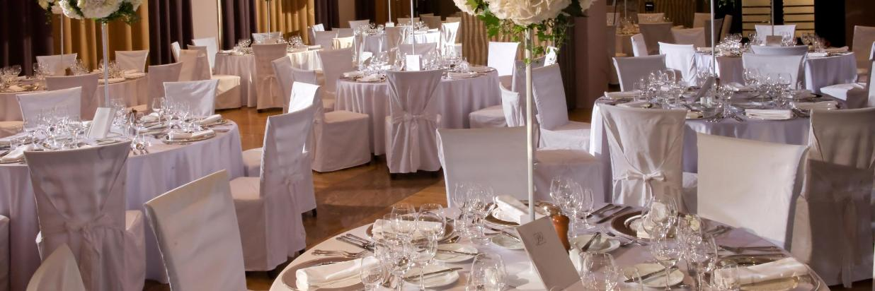 Hotel Slon Wedding setup tables.JPG