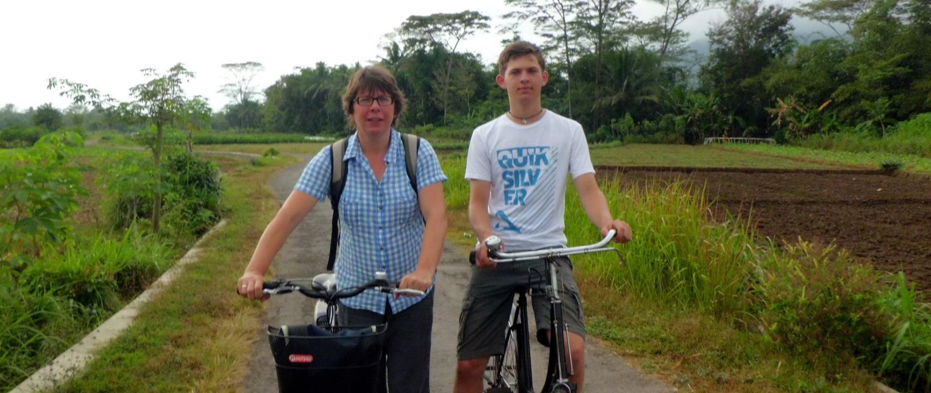 A Cycling Tour of Borobudur - Efata Homestay