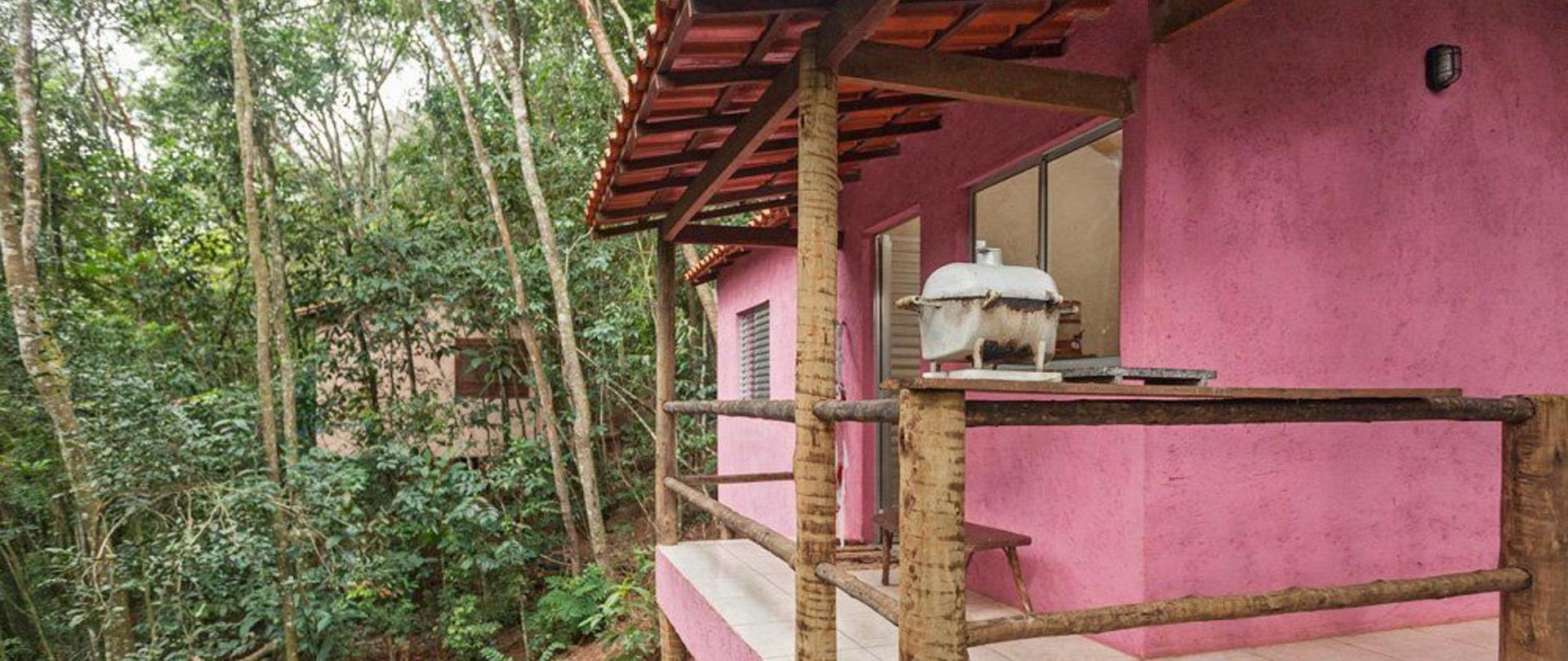 Pink chalet