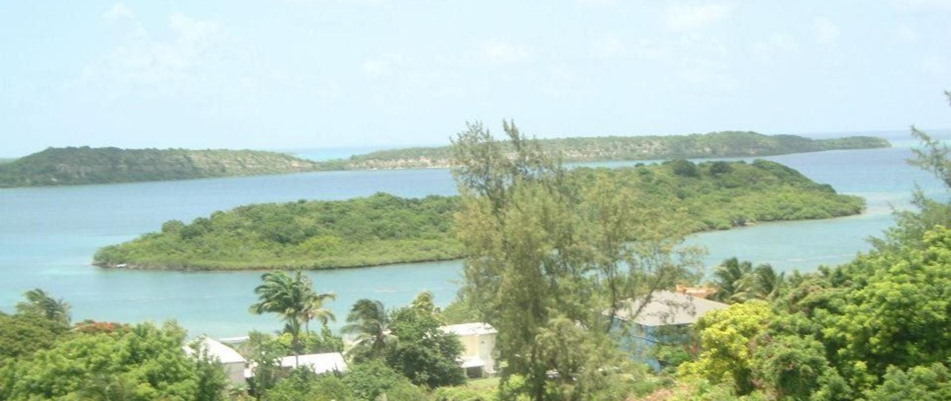 Ellen Bay With Islands in Background