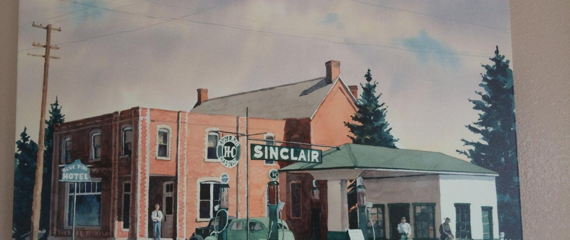 Blue Pine Motel 1938