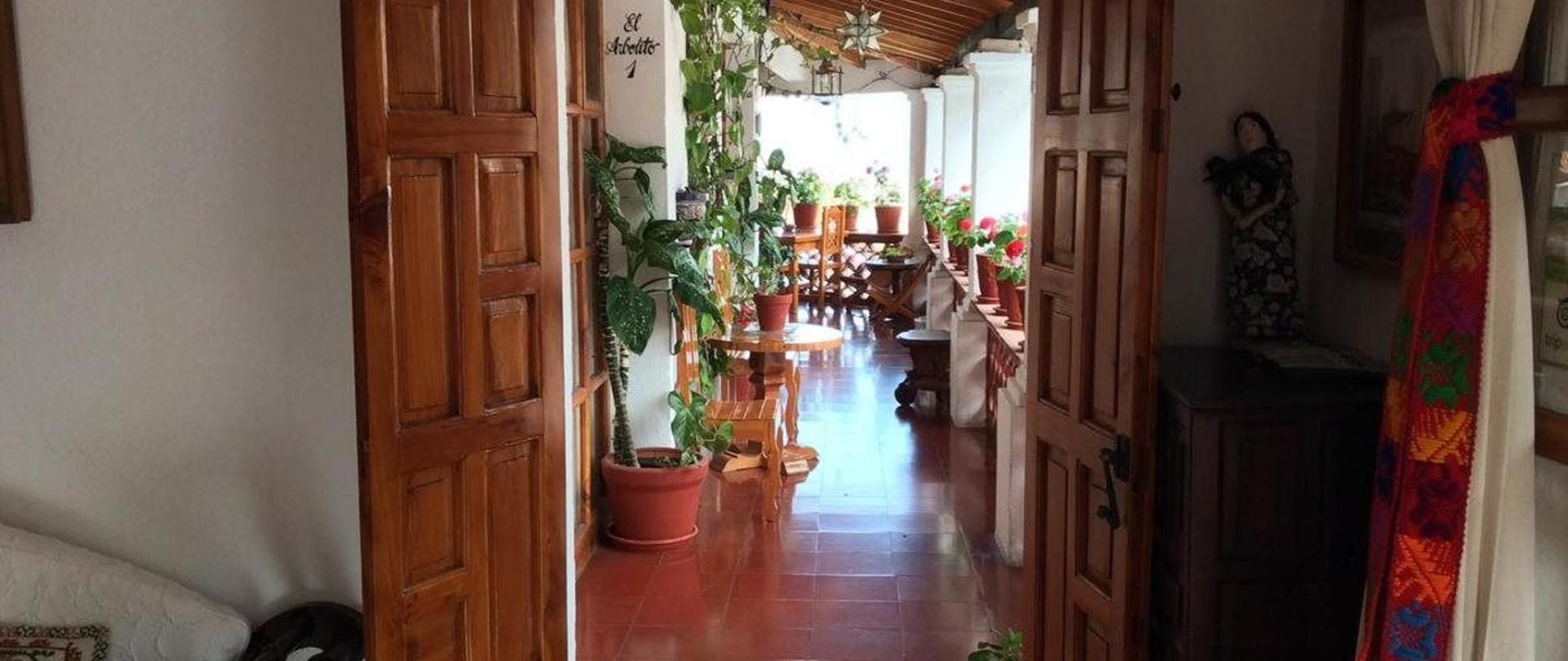 Hallway Hotel Mi Casita