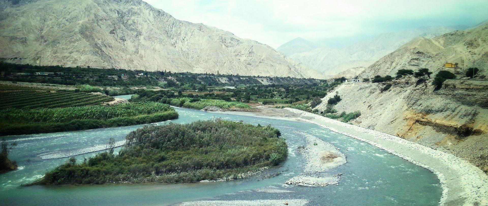 vista rio cañete