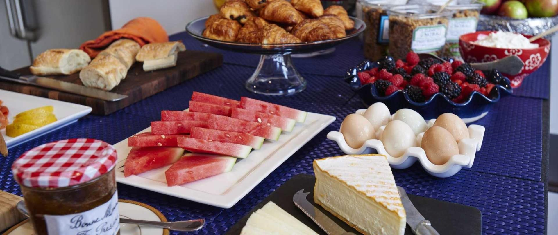 European Inspired Breakfast Buffet