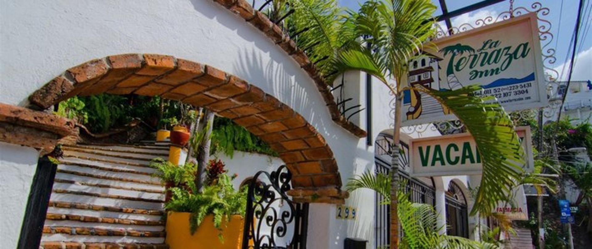 La Terraza Inn Hotel In Sunny Puerto Vallarta Mexico