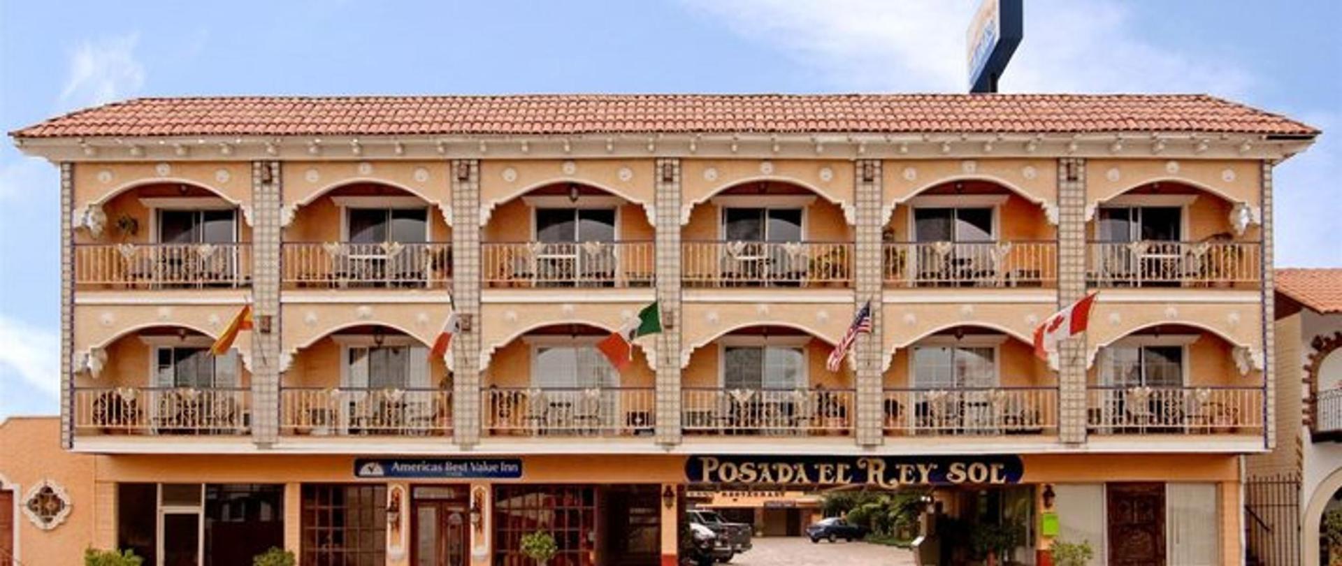 Hotel Posada El Rey Sol.