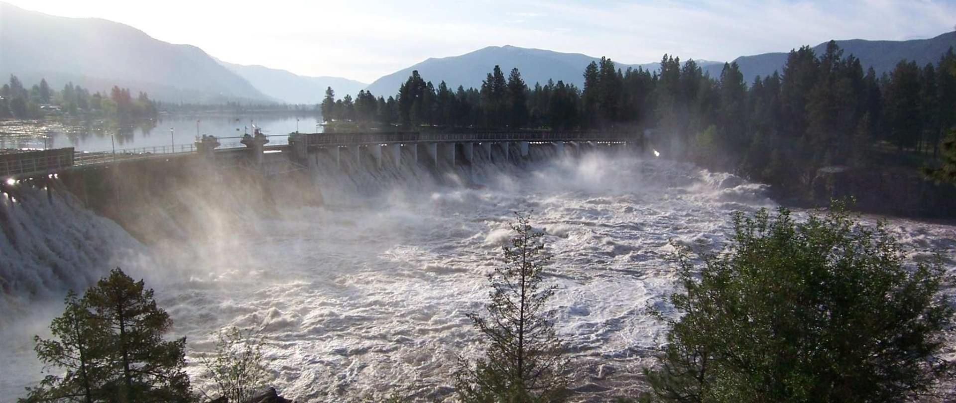 Thompson Falls Dam during Spring Highwater .jpg