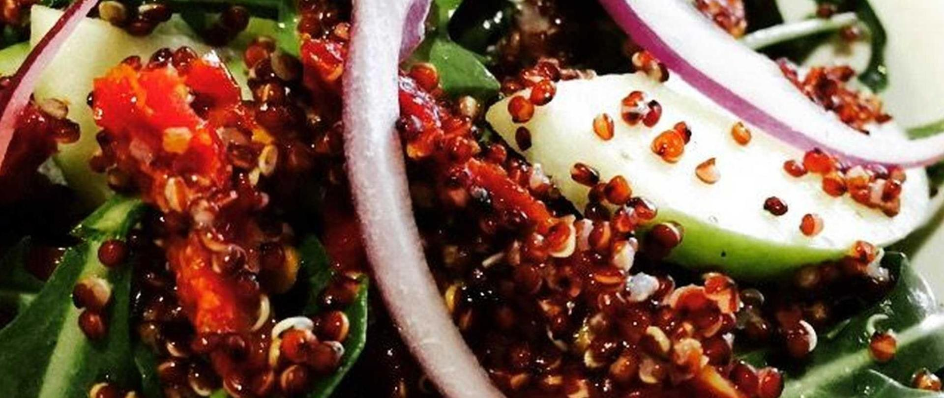 Quinoa salad perfect for lunch or to share with main course.jpg