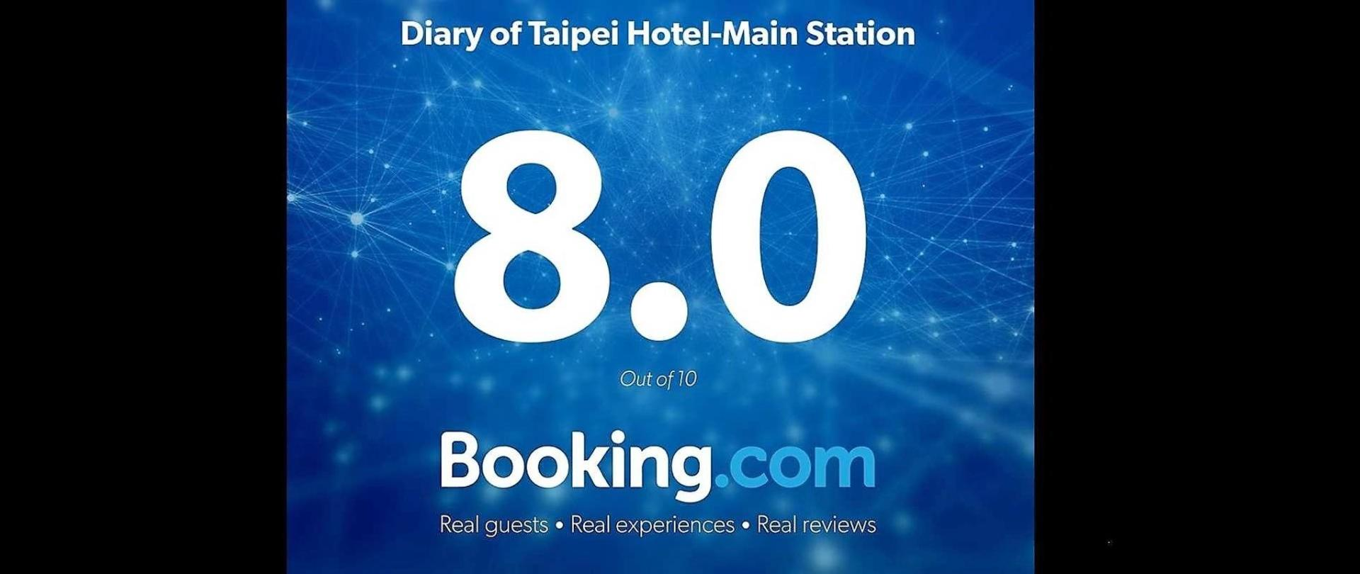 Diary of Taipei Hotel-Main Station