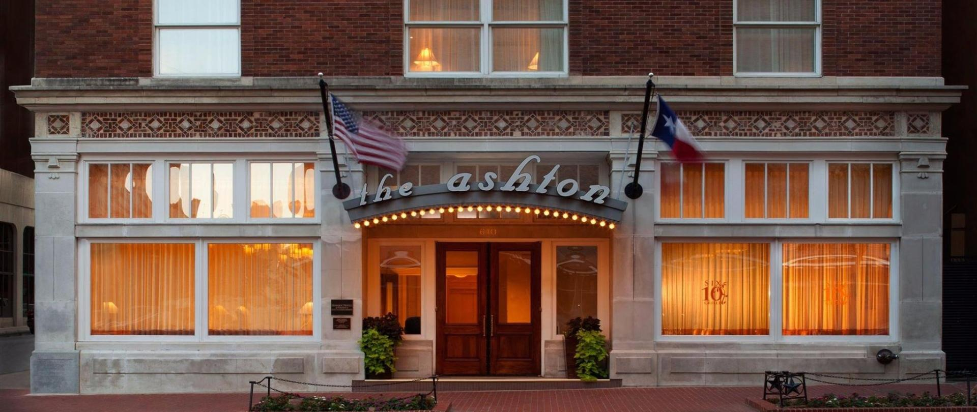 The Ashton Hotel Fort Worth