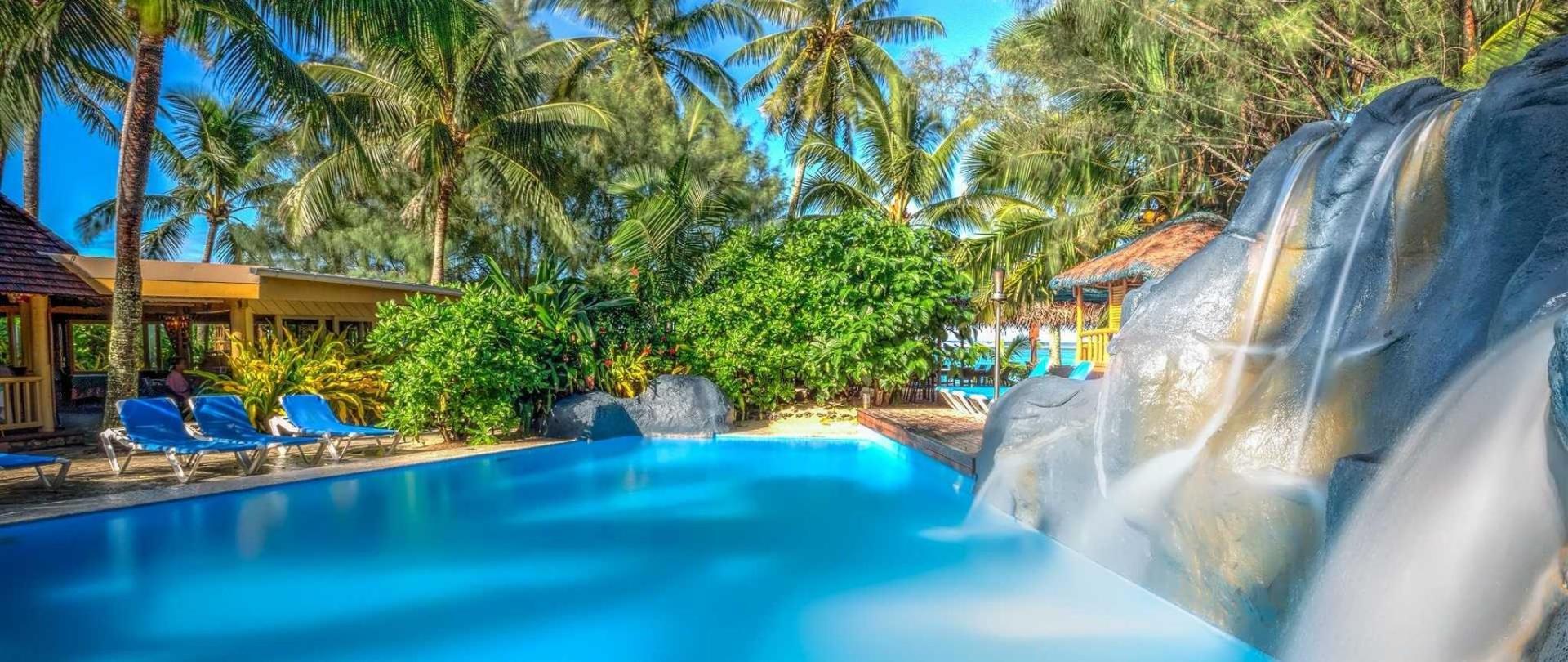 Landscape House The Rarotongan Beach Resort Amp Lagoonarium Rarotonga