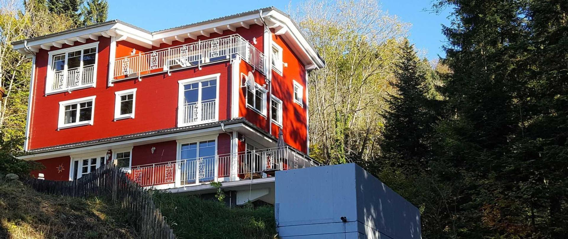 Schwedenhaus at Eichenberg near Bregenz and Lindau