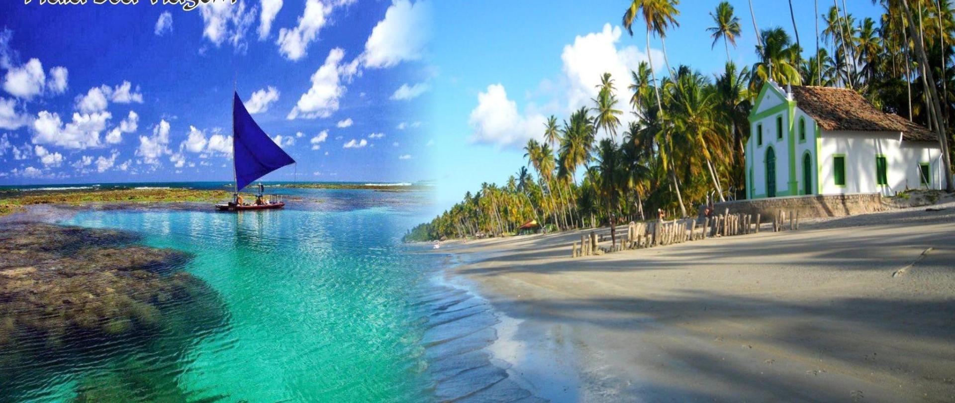 Homenagem as melhores praias de Pernambuco.