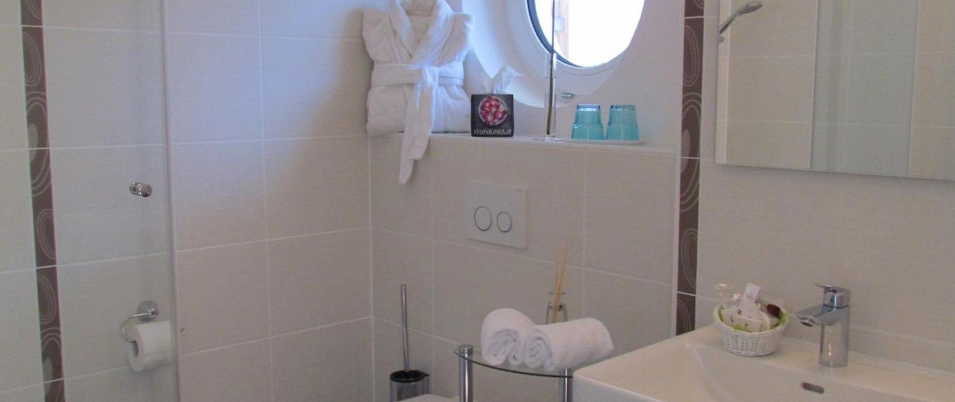 Bathroom with Shower.JPG