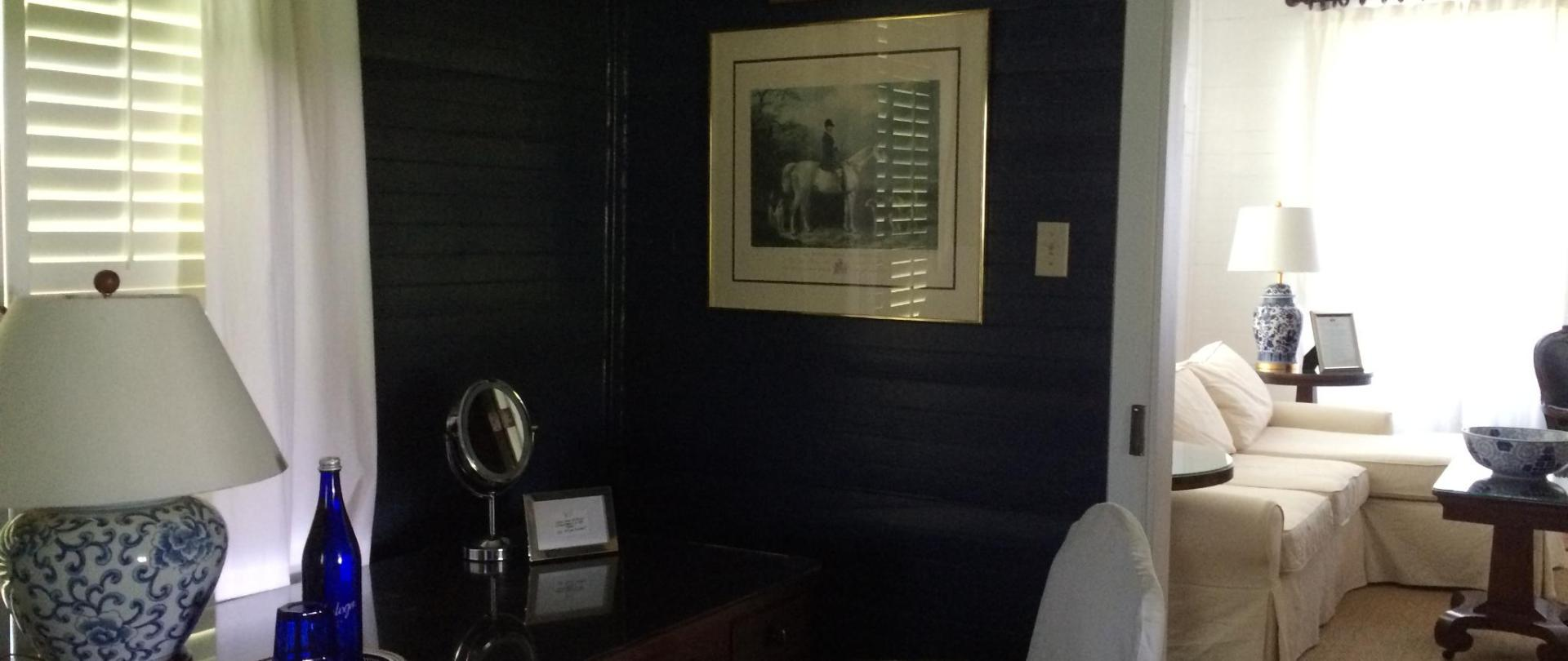 farmhouse - blue bedroom desk thru living room.jpg