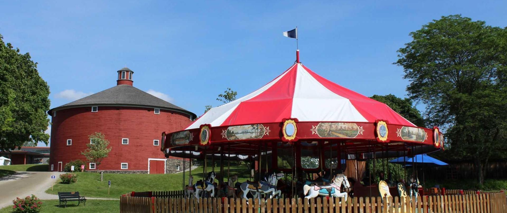 shelburne-museum-round-barn-caroussel.JPG