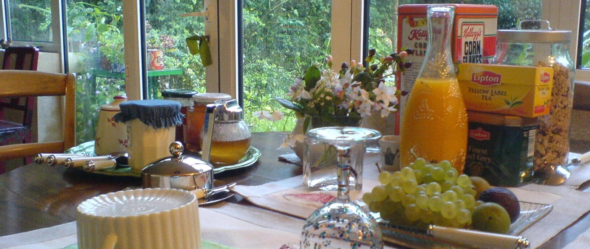 breakfast cosy corner