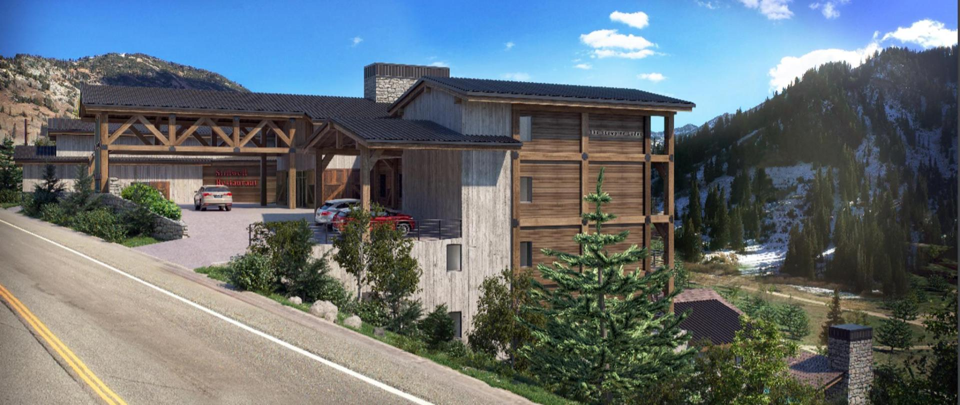 Alta Snowpine Lodge- Summer