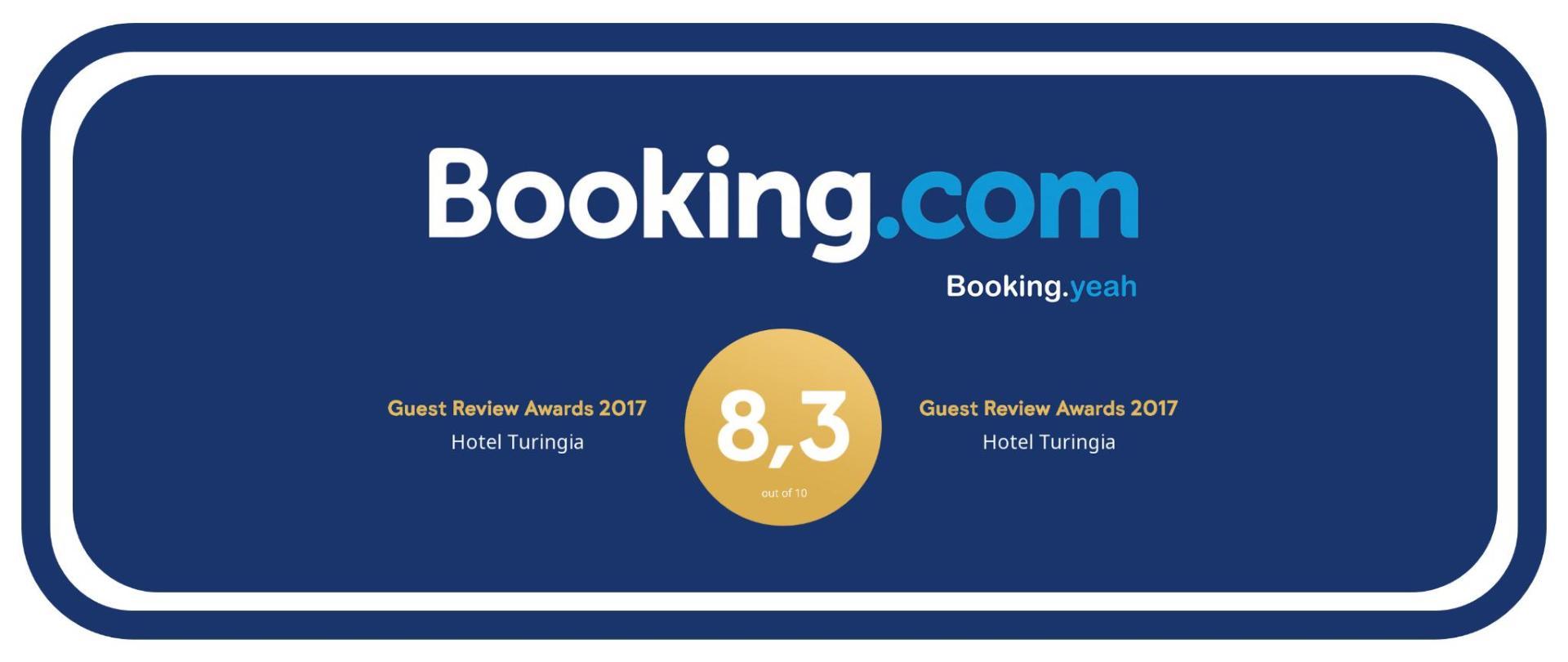 Premio excelencia Booking.com Hotel Turingia Miramar.png
