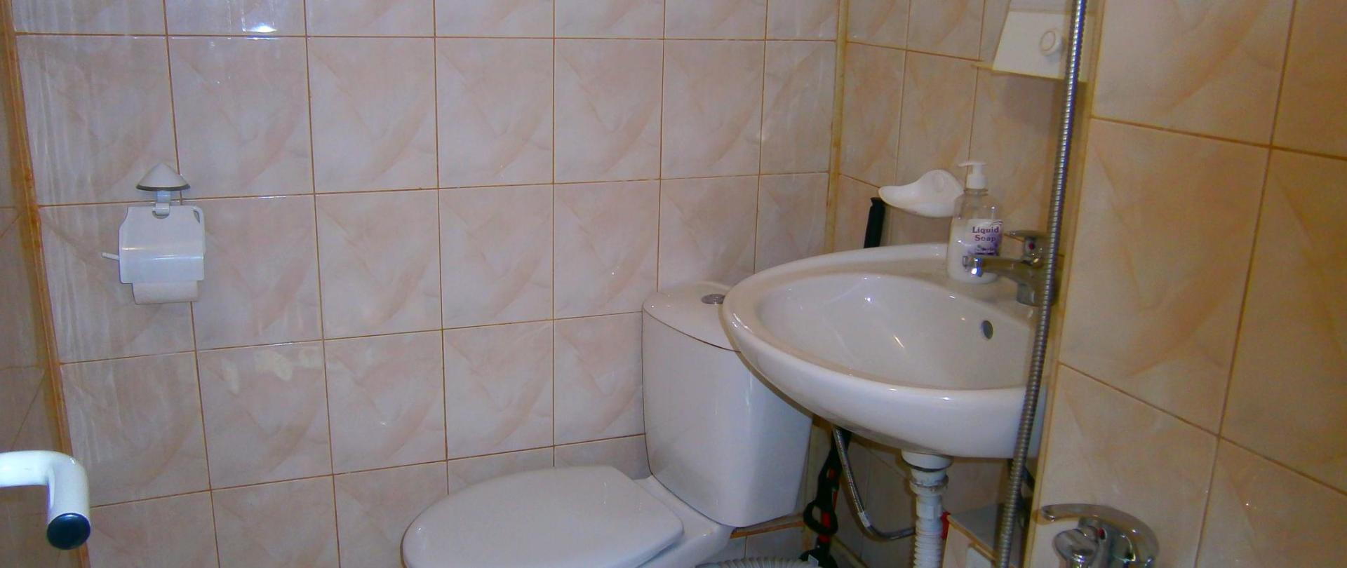 bagno con wc, camera tripla