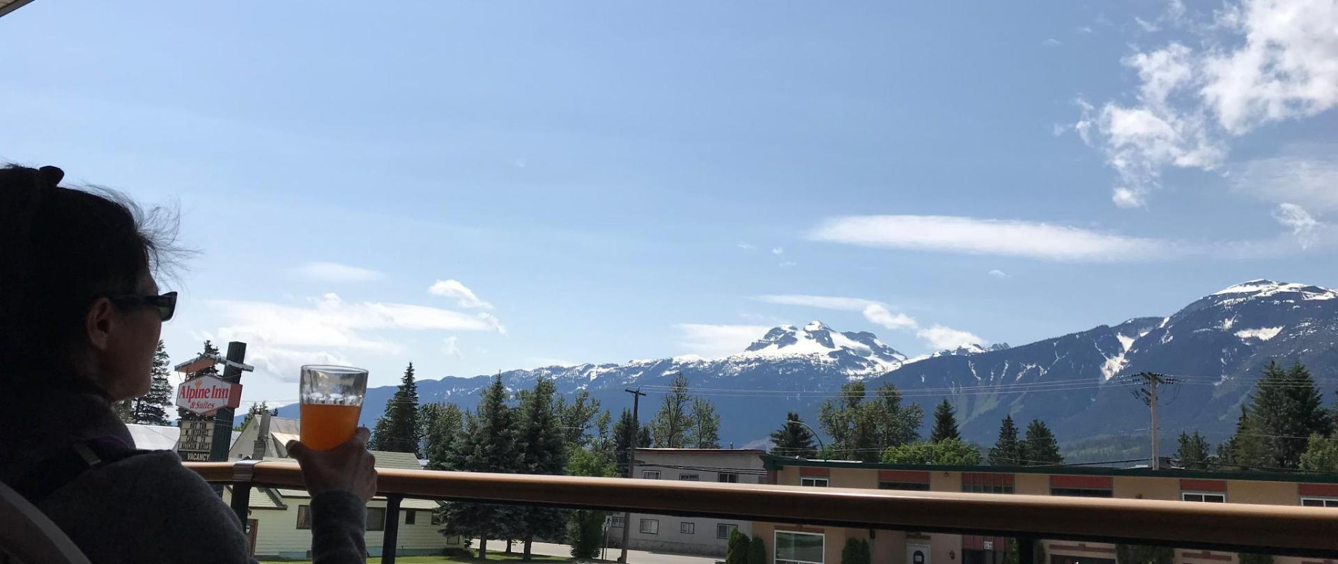 Mountain View - From belcony of guests room.JPG