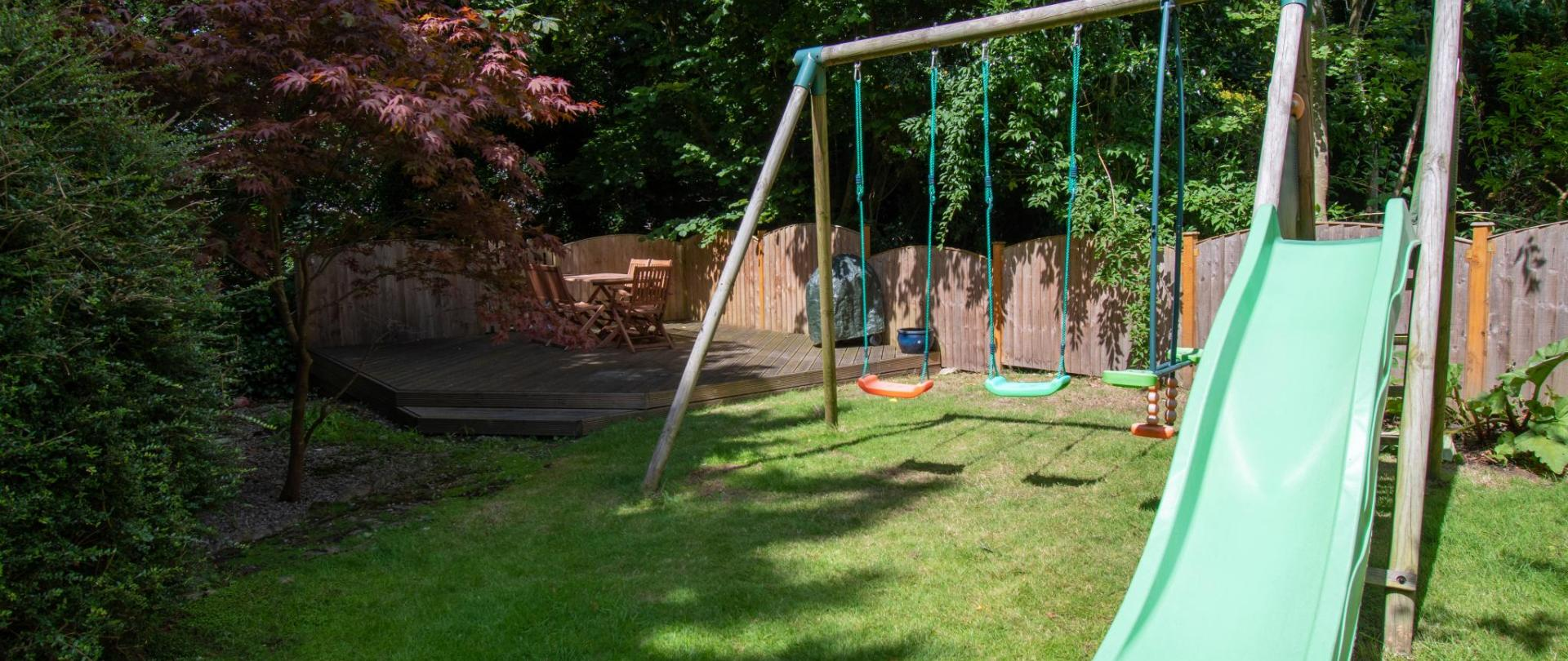 Play Area / Decked Seating Area