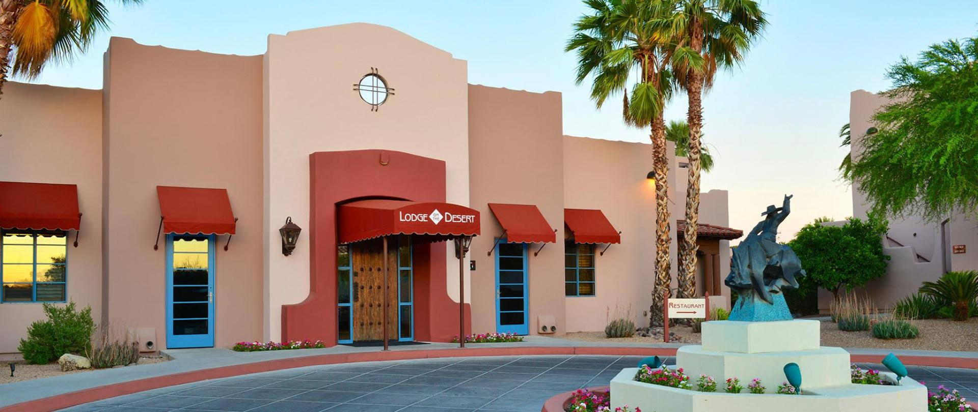 Tucson Boutique Hotels Lodge On The Desert Historic