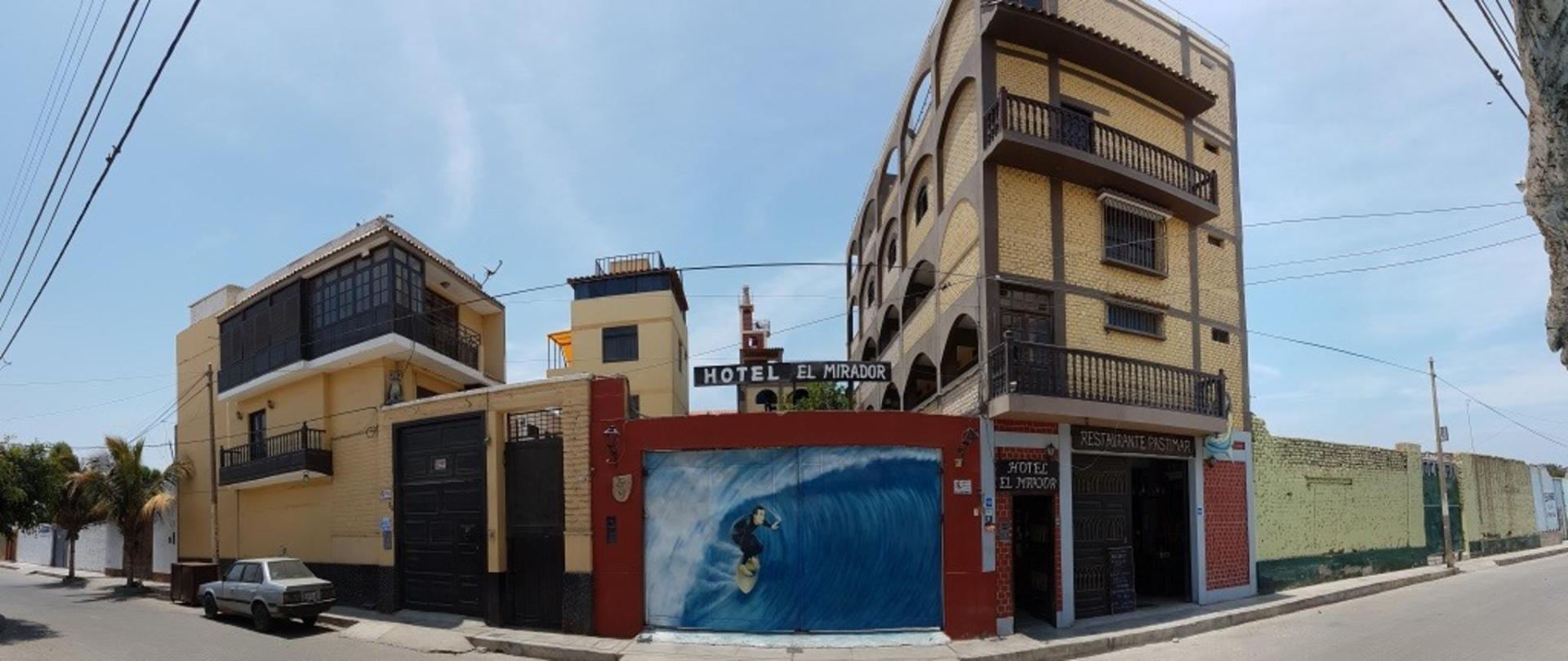 Kite-surf, wind-surf, surf hospedaje hotel El Mirador Pacasmayo Peru