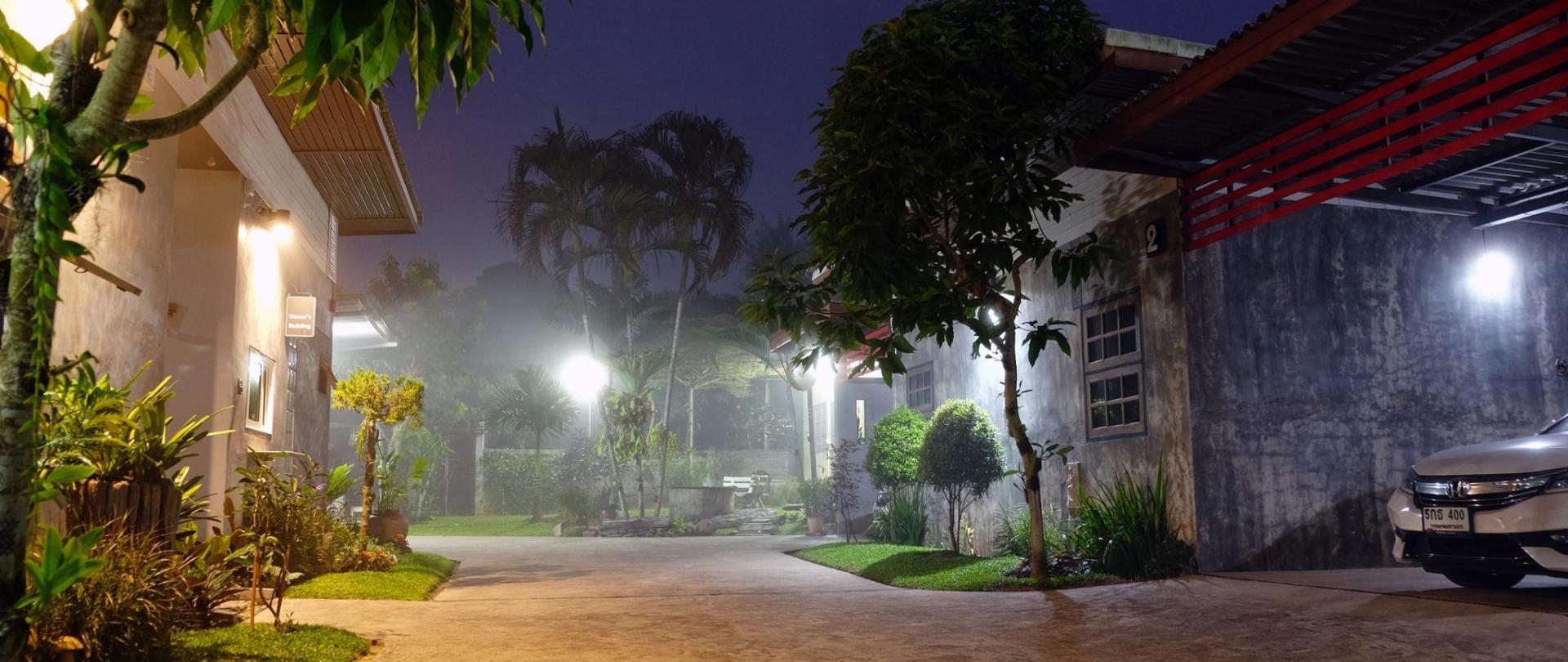 Secured parking/Property Building/Garden