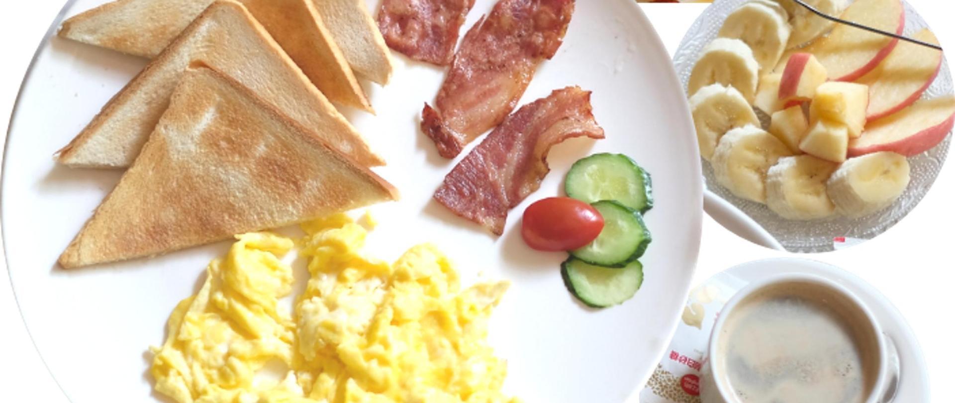 早餐套餐巴纽