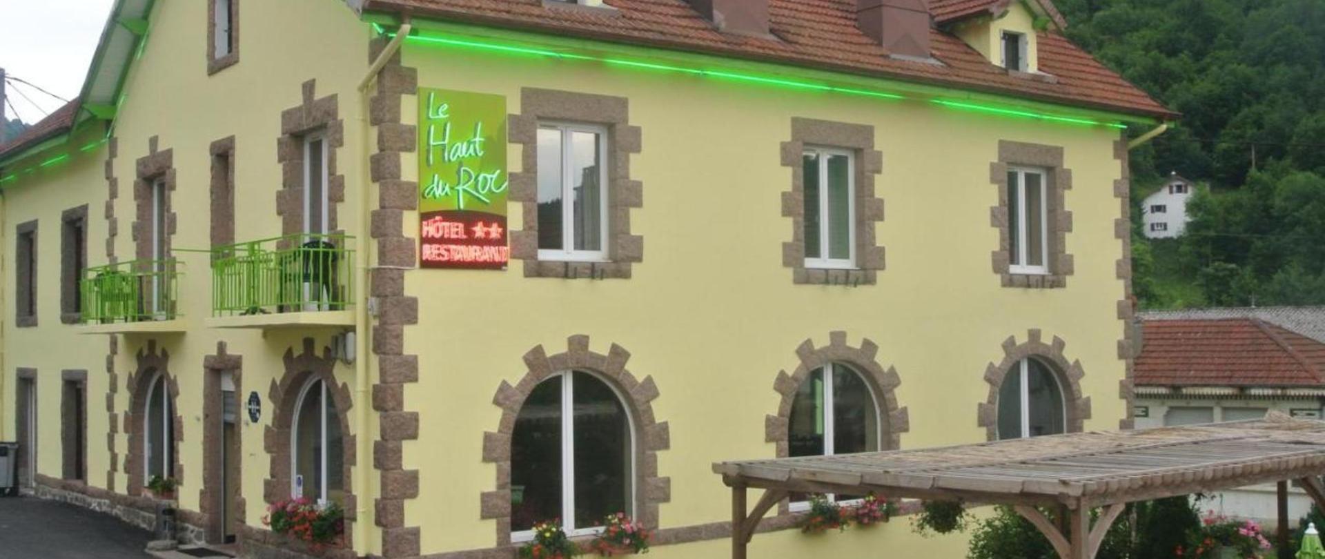 Hotel Restaurant Du Haut Du Roc