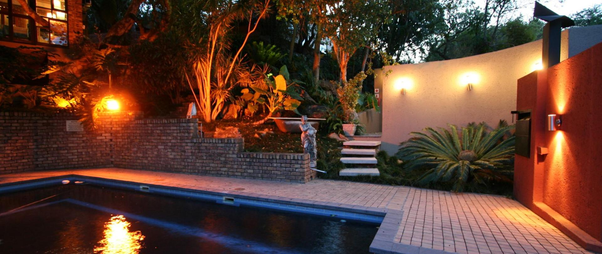 view pool and barbecue area at pool pic 2.JPG