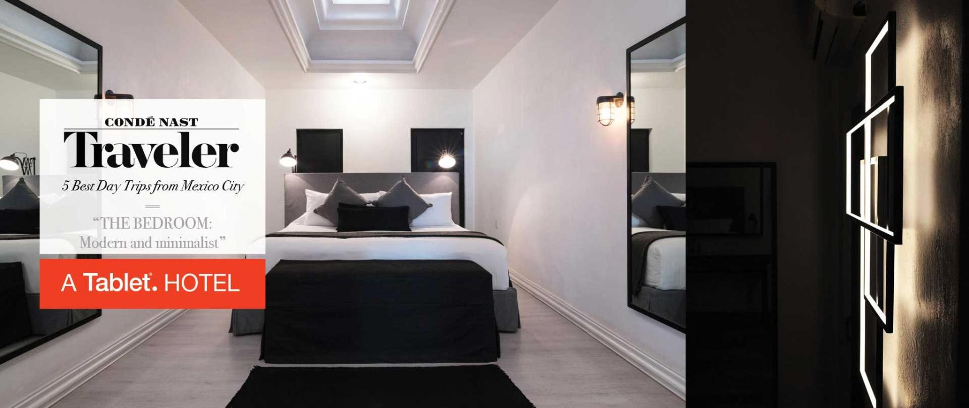 Habitaciones modernas con una decoración elegante. Las Casas B+B Boutique Hotel, Spa & Restaurante. en Cuernavaca. es una hermosa mezcla de pasado y presente que se refleja con sencillez y estilo.