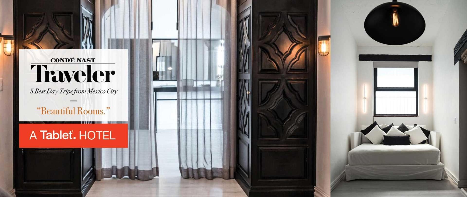 Nuestras habitaciones son hermosas y lo dice la revista Conde Nast Traveler! Las Casas B+B Boutique Hotel, Spa & Restaurante en Cuernavaca.