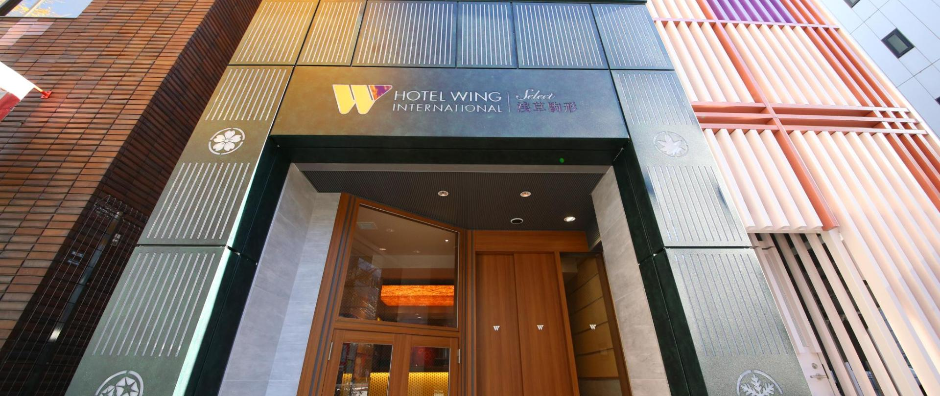 Hotel Wing International Pilih Asakusa Komagata