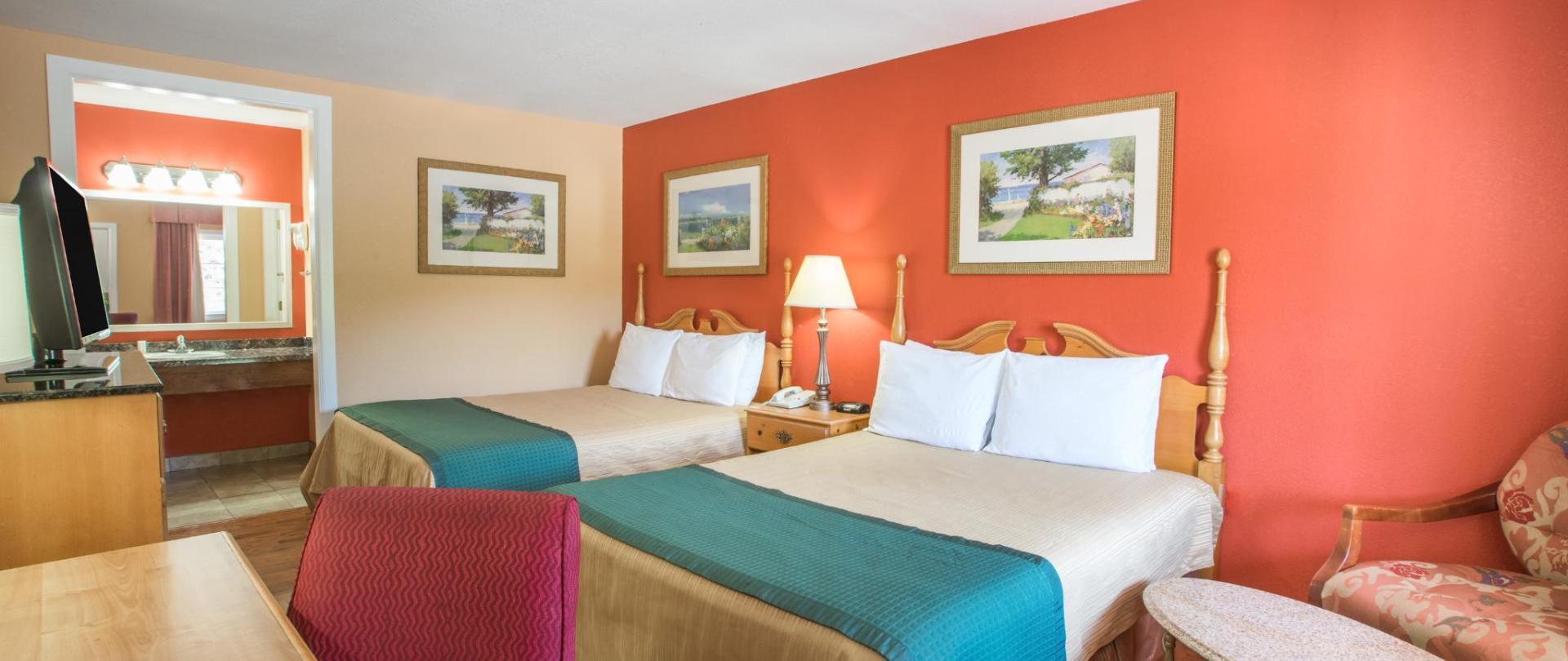 Dos camas tamaño queen NSMK