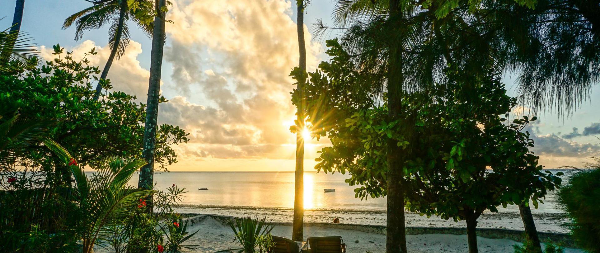 Indigo Beach Zanzibar Sunrise