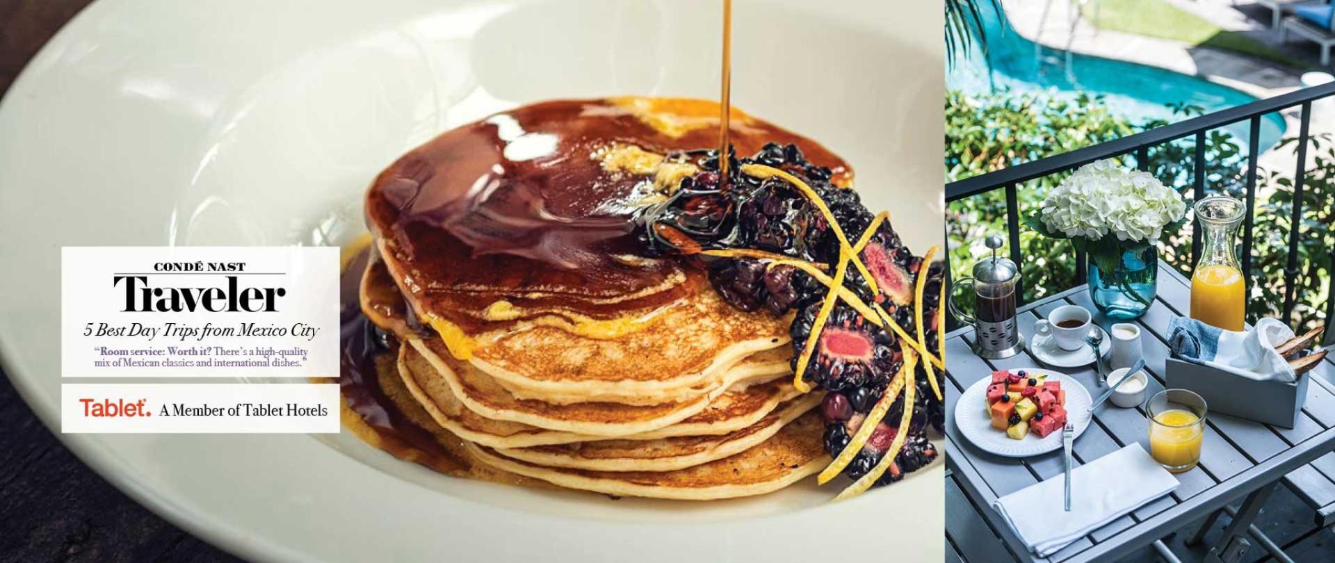 Desayuno y Sunday Brunch es complementario con tu estadía! Las Casas B+B Boutique Hotel, Spa & Restaurante en Cuernavaca