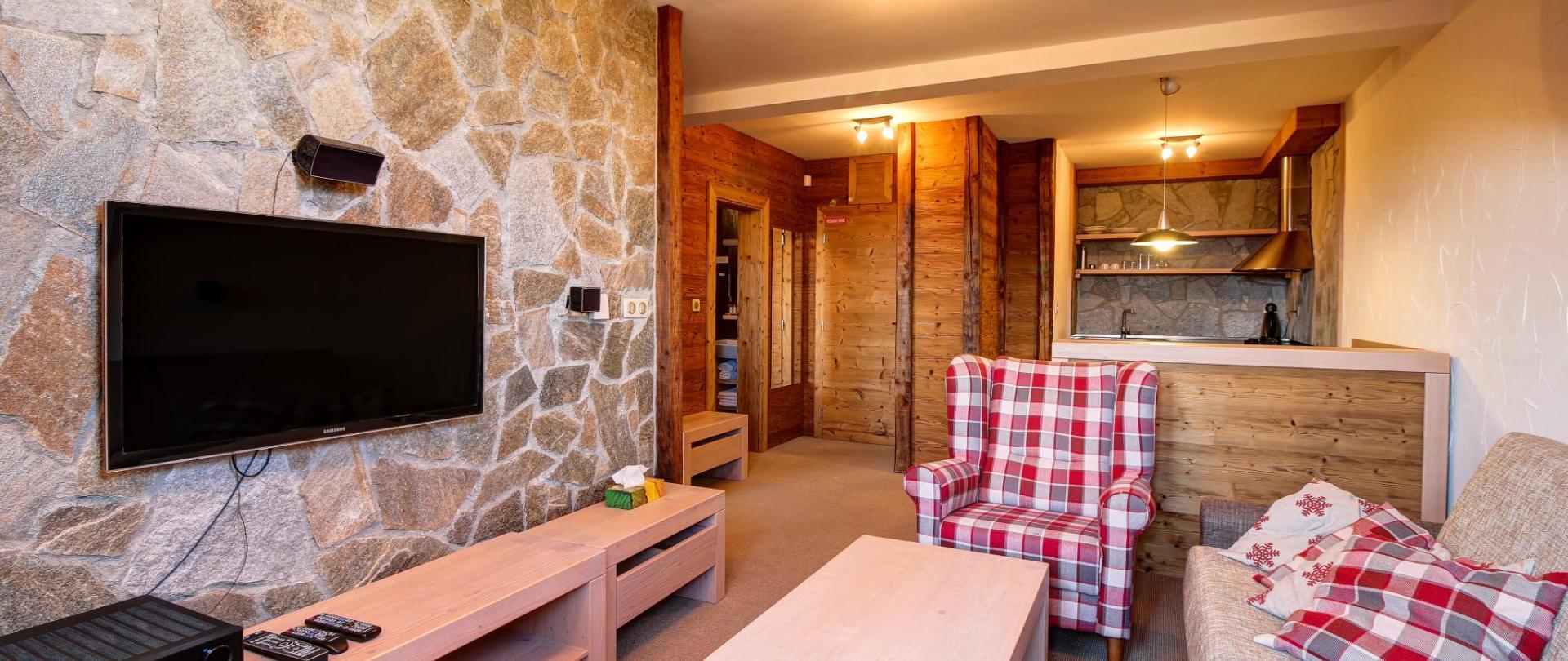 Rodinné apartmány v horskom hoteli