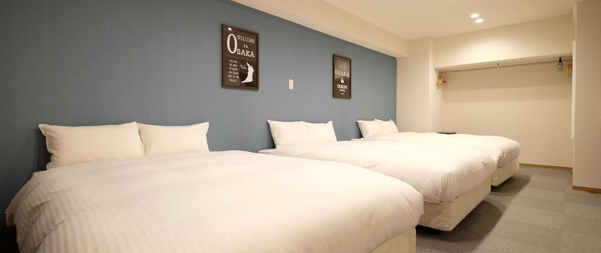 OOKINI HOTELS Dotonbori Apartment