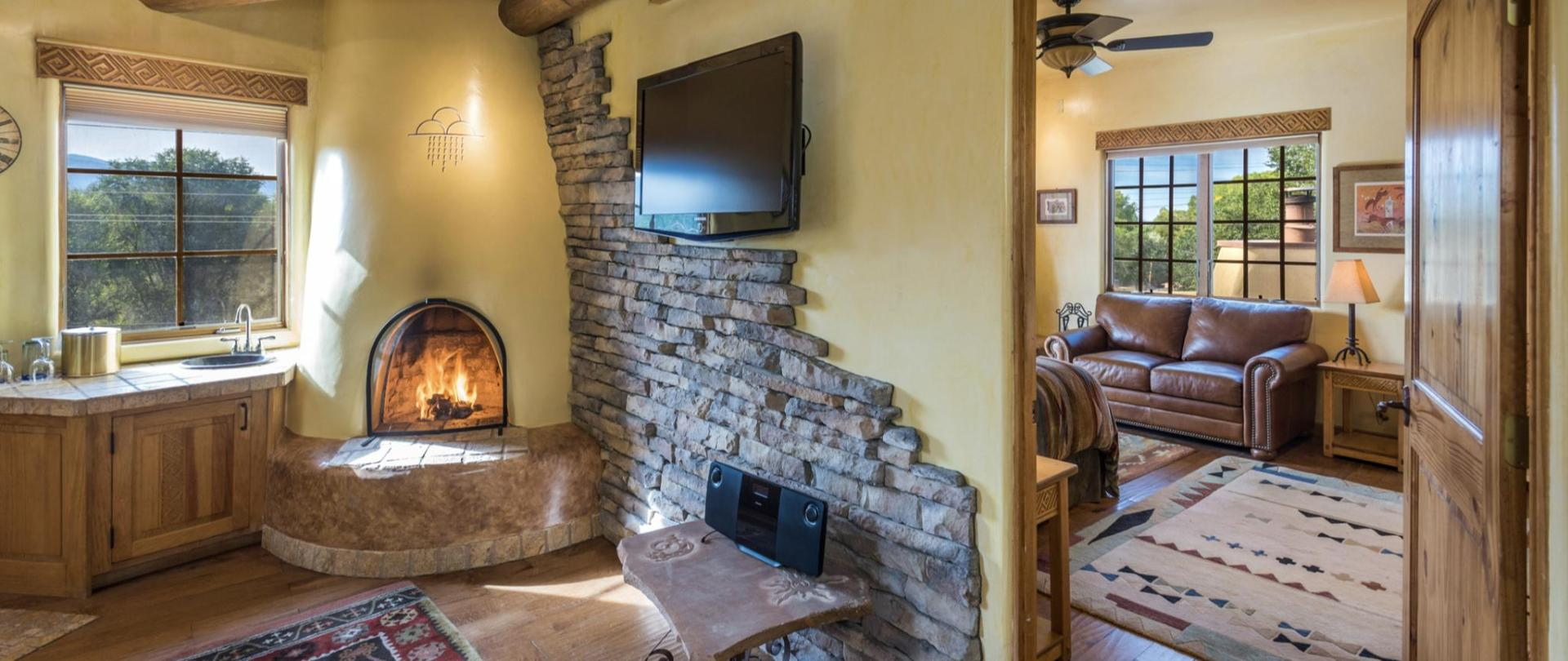 The Anasazi Penthouse Suite a two room luxury accommodation