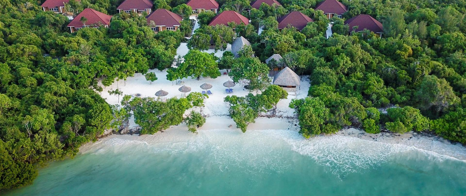 Aerial Photo of Deluxe Rooms Beach View and private beach.jpg