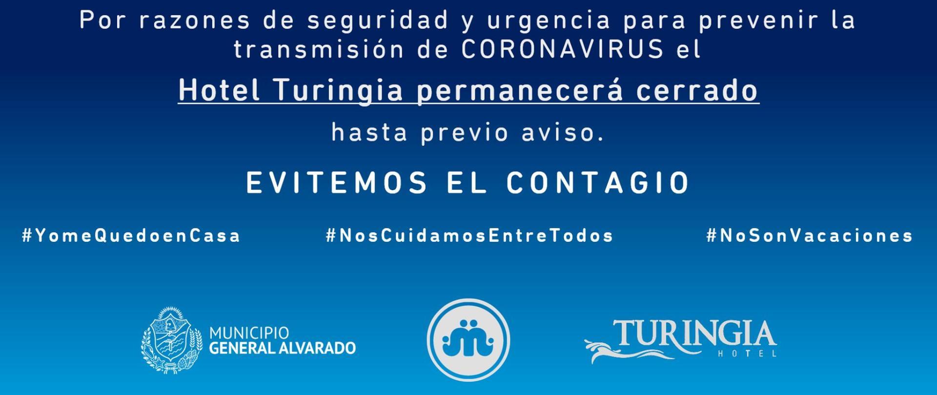 Hotel Turingia Miramar 2020 Coronavirus.png