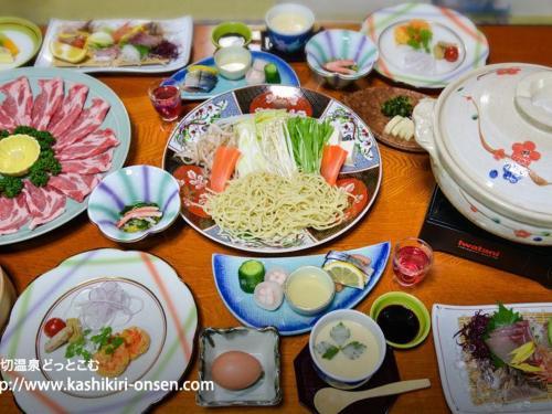 การรับประทานอาหาร Jigokumushi