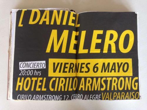 Daniel Melero en Cirilo Armstrong.