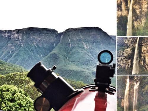 Uso de telescópios