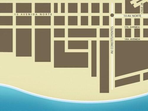 Playa del Carmen地圖