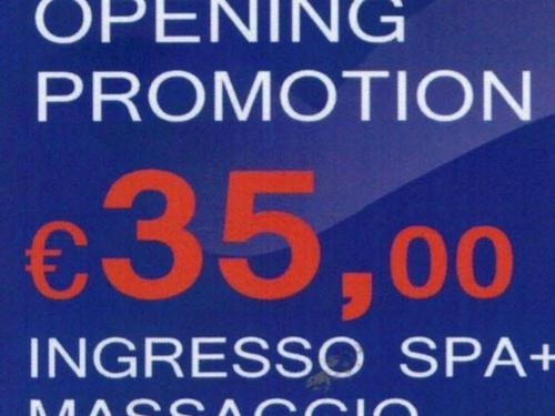 Opening Promotion € 35,00