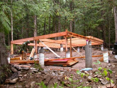 The making of Logden Lodge